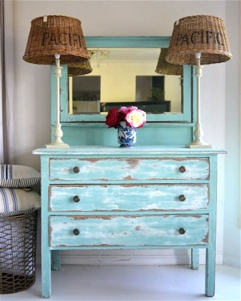 distressed painted furniture ideas for a coastal look completely coastal