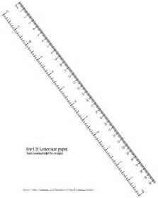 ruler template inches metric ruler actual size printable