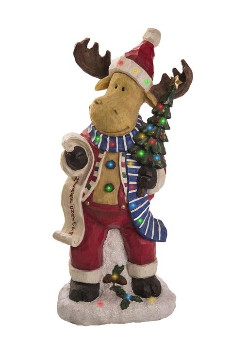 reindeer christmas statue indoor outdoor statue