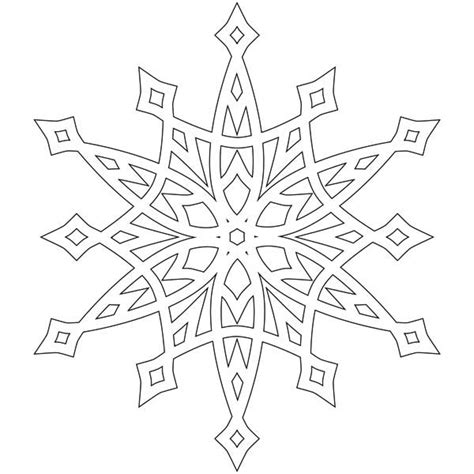 printable snowflake coloring pages 13513 bestofcoloring com