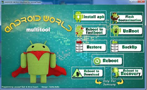 android multi tools reset tablet android world multitool run adb commands unroot backup