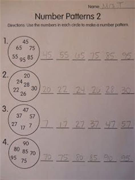 number pattern games grade 3 great math ideas number patterns 100s chart and
