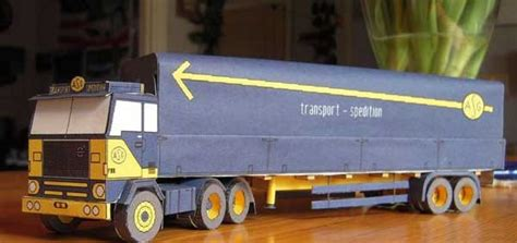 volvo semi truck models papercraftsquare com new paper craft asg volvo f88 semi