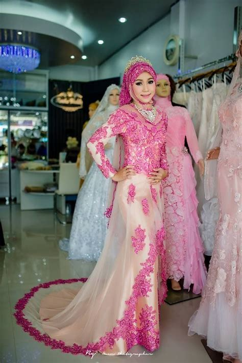 Kebaya Pengantin Modern Muslimah gaun pengantin kebaya muslim modern yang istimewa