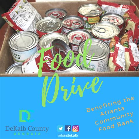 Dekalb County Ga Clerk Of Court Search Officials Sponsor Food Drive To Benefit Dekalb Residents Dekalb County Ga