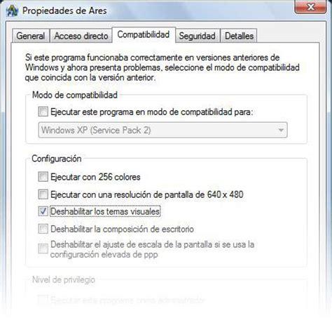 descargar ares primera version espaol portalprogramascom descargar ares gratis para windows vista en softonic