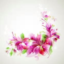 free vector halation with flowers background 03 free