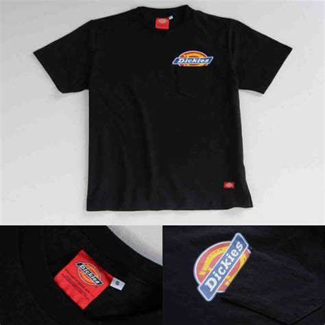 Tshirt Kaos Dickies Original 2 jual kaos ori baru dickies sleeve pocket black