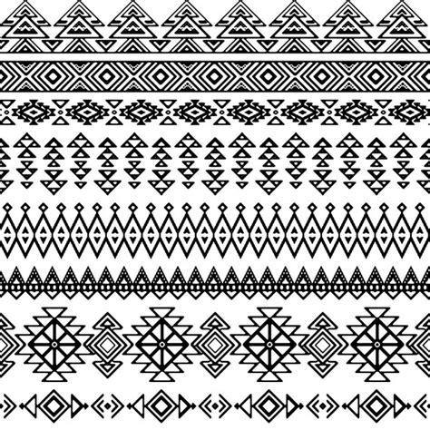 imagenes blanco y negro vectores patr 243 n decorativo tribal en blanco y negro descargar