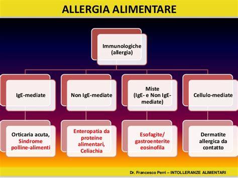 allergia alimentare perri f le allergie e le intolleranze alimentari asmad 2015