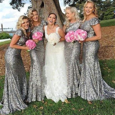 Silver Bridesmaid Dress by 142 Best Bridesmaid Dress Images On