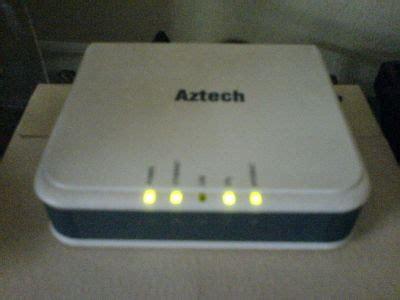 Modem Aztech Speedy setting modem