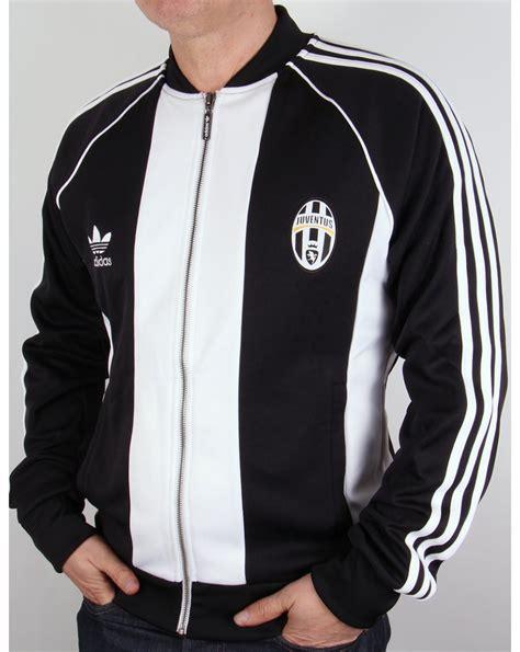 Jaket Tracker Juventus Black adidas originals juventus turin superstar track top black white adidas originals from 80s
