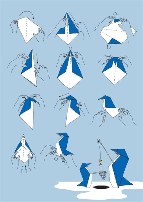 Origami Penguin Easy - origami penguins shogololo stories penguins