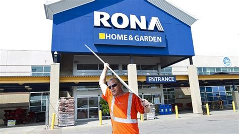 rona takeover by lowe s gets ok from ottawa and
