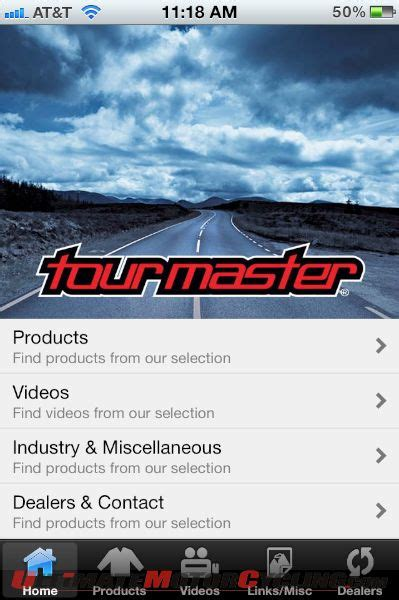 helmet house helmet house releases tour master iphone app