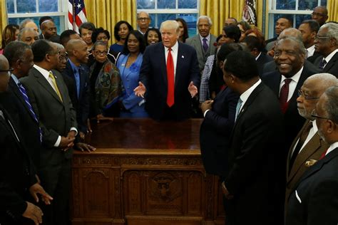 donald trump college trump signs executive order on black colleges pbs newshour