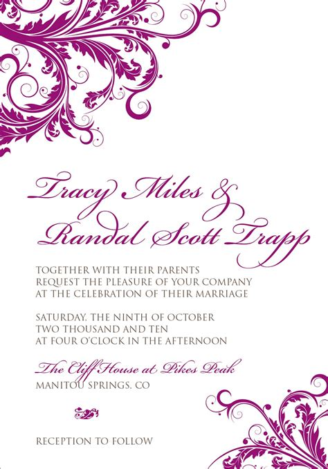 wedding invitation card border designs free download