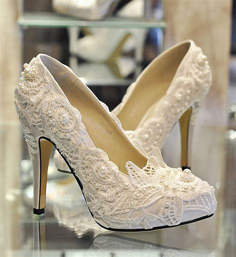 Sepatu Cantik sepatu pengantin paling cantik untuk mempelai wanita