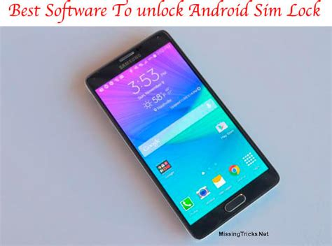 sim card locked android top android unlock software to unlock android phones with ease