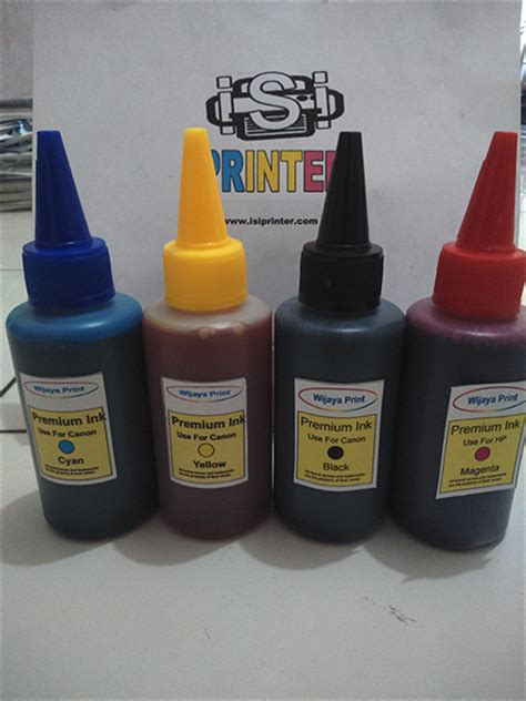 Paket Tinta Isi Ulang Refill Hp 100ml One Ink 4 Warna tinta printer botol infus 100ml untuk hp canon epson refill isi ulang isi printer