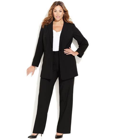 calvin klein plus size suit separates collection shop
