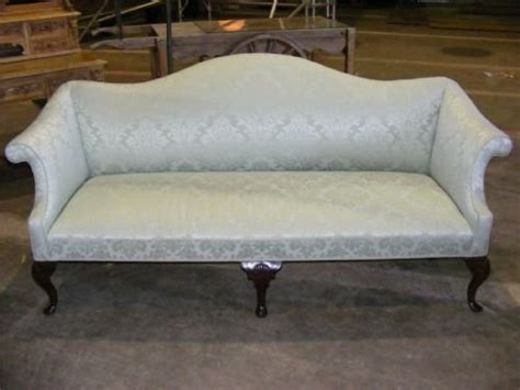 antique queen anne sofa queen anne style mahogany 3 seater camel back sofa