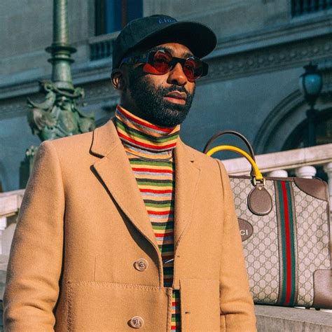 ricky rick these snaps of ricky rick at paris fashion week are to die for