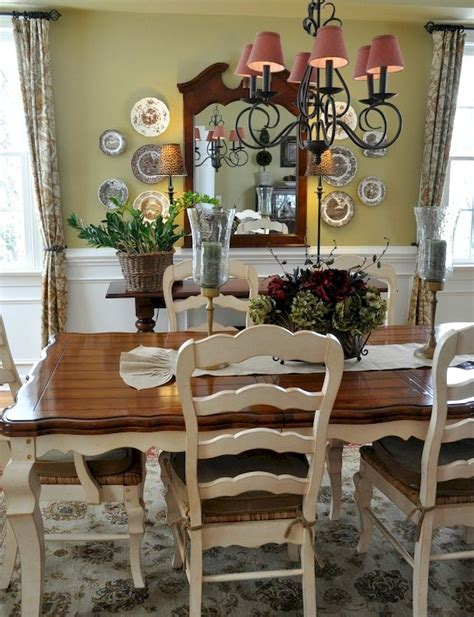vintage french country dining room design ideas