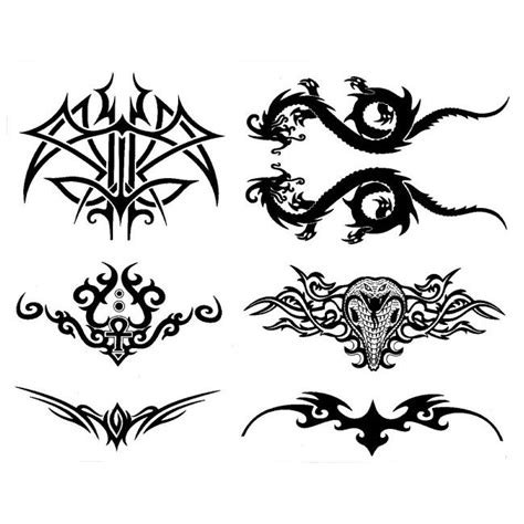 upper back tribal tattoos designs tribal lower back tattoos designs