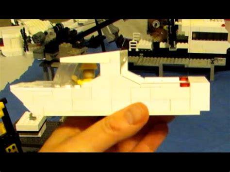 lego boat build lego boat custom build moc youtube