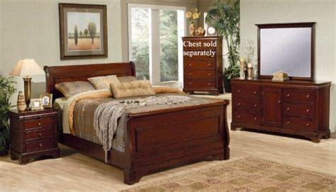 Bedroom Sets Black Friday Black Friday 4pc Size Sleigh Bedroom Set Louis