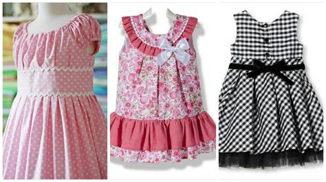 how to designer dress at home stylish cotton dress designs frock for baby easy