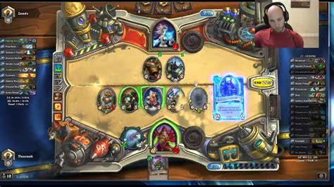 hearthstone legend deck hearthstone legend rogue new mech deck tech