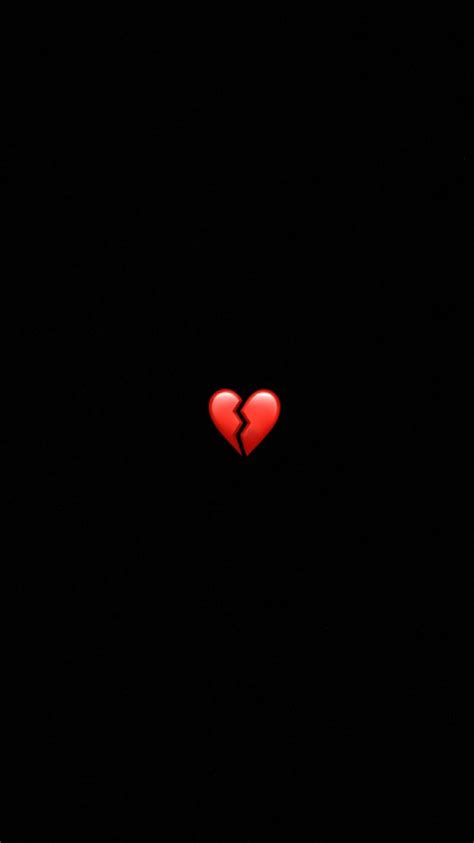 Wallpaper Emoji Broken Heart : Search free heart broken
