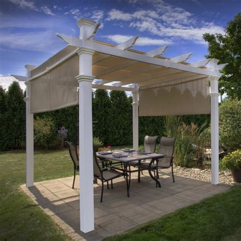 vinyl pergola kits lowes pergola gazebo ideas