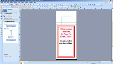 Diy Door Hanger Template Diy Do It Your Self Microsoft Publisher 2010 Door Hanger Template