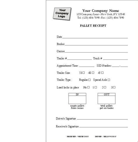 Bike Transfer Letter Karachi Pallet Delivery Receipt Form Item 6550 Delivery Forms Bill Of Lading Standard Forms