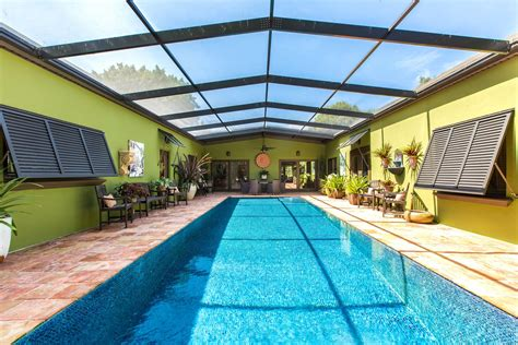 florida house plans with courtyard pool highly updated indialantic courtyard pool home 499 000