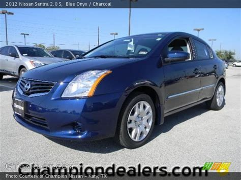 2012 blue nissan sentra blue onyx 2012 nissan sentra 2 0 s charcoal interior