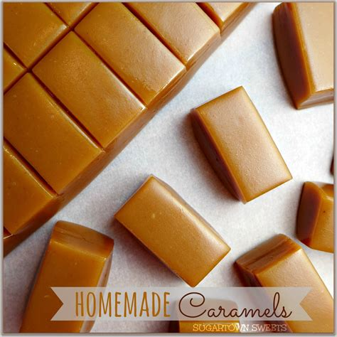 Handmade Caramels - sugartown caramels
