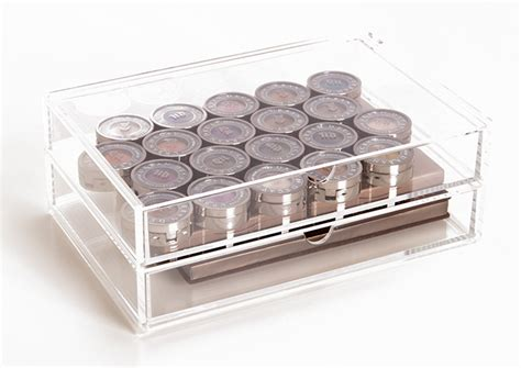 muji clear acrylic drawers muji 2 drawer acrylic drawers for makeup organization