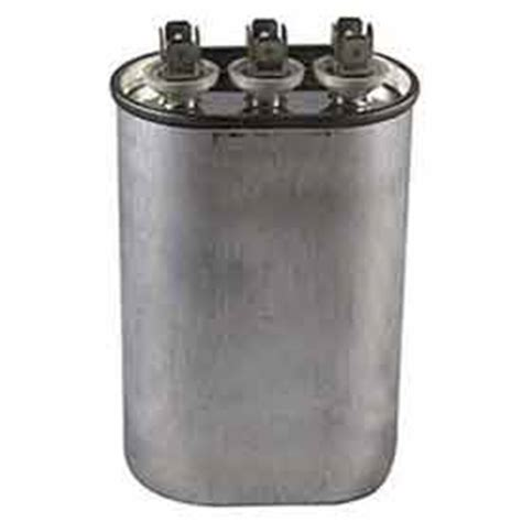 dual motor run capacitor mfd rating 35 5 capacitors capacitors dual voltage 370 440 oval run capacitor 35 5 mfd b430306