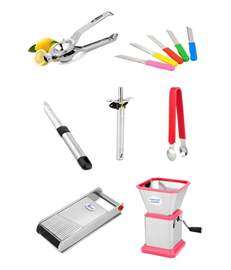 Kitchen Cutting Tools Airan Kitchen Cutting Tools Set Combo Of 7 Pcs Buy