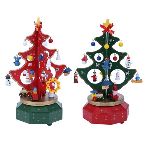 aliexpress com buy merry go round wooden tree holiday