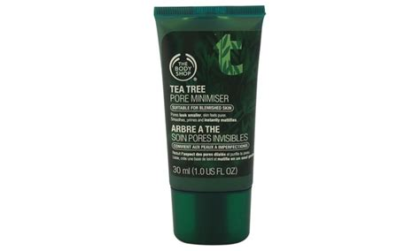 Serum Tea Tree Shop the shop tea tree pore minimiser suitable unisex 1 oz serum groupon