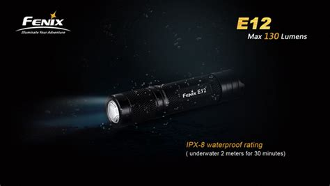 fenix e12 clip fenix e12 cree xp e2 led 130 lumens aa battery edc