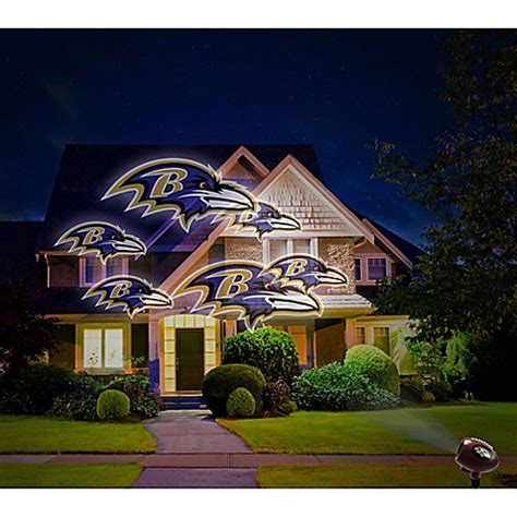 bed bath and beyond baltimore nfl baltimore ravens pride light bed bath beyond