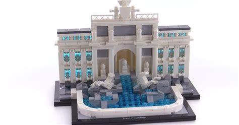 Lego Architecture 21020 Trevi lego architecture trevi review set 21020