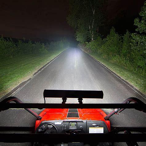 spot light bars for trucks 52 quot 500w aluminum led light bar flood spot combo for